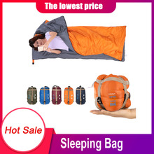 Envelope-Sleeping-Bag Ultralight LIXADA Travel-Bag Walking Outdoor Beach Camping Adult