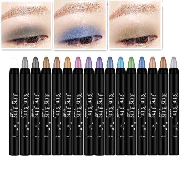 2019 Professional High Quality Eye Shadow Pen Beauty Highlighter Eyeshadow Pencil 118mm Wholesale Eye Pencil