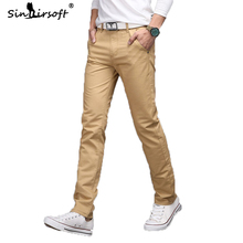 New Mens Casual Business Pant Stretch Elastic Fabric Slim Straight Pant Men Pants Trousers Male Pantalones Pantalon Homme Hombre new mens casual business pant stretch elastic fabric slim straight pant black blue khaki men pants trousers male big size 28 38