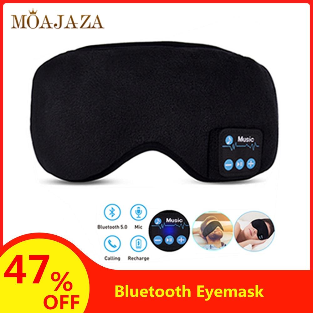 Bluetooth Eyemask Sleep Mask Rechargeable Headphone Calling Washable Eyepatch Travel Office Home Sleeping Eye Mask