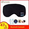 Bluetooth máscara de sono recarregável fone de ouvido chamando lavável eyepatch viagem escritório casa dormir máscara de olho
