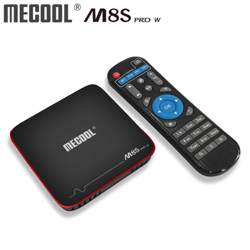 Mecool M8S Pro W Android TV Box Amlogic S905W Quad-Core TV Box 2GB 16G Android 7.1 smart Media Player 4K 2.4G Wifi TV Receiver