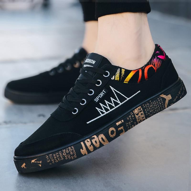 2020 Men Casual Shoes Light Men Canvas Shoes Comfort Men Shoes Fashion Sneakers Men Casual Sneaker Walking Shoes Male Footwear