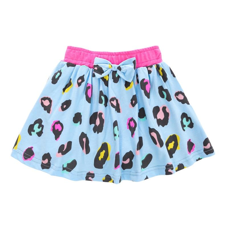 Little Maven Summer Baby Girl Clothes Denim Color Cotton Mini Unicorn Denim Color Lolita School Cute Skirts for Kids 2-7 Years 5