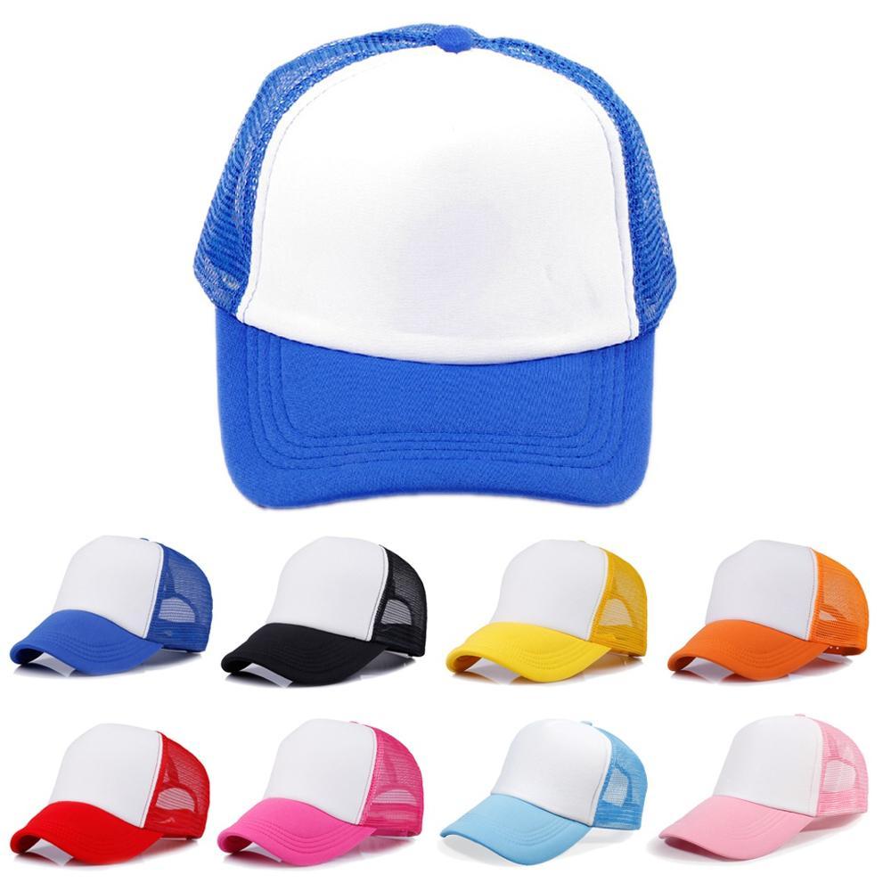 Mistdawn Children Boys Girls Junior Vintage Mesh Snapback Trucker Cap Kids Baseball Hat Adjustable