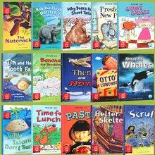 6 livros aleatórios 21x15cm inglês iluminação storybook crianças cor imagens livros de leitura livro de história para crianças histórias de ninar