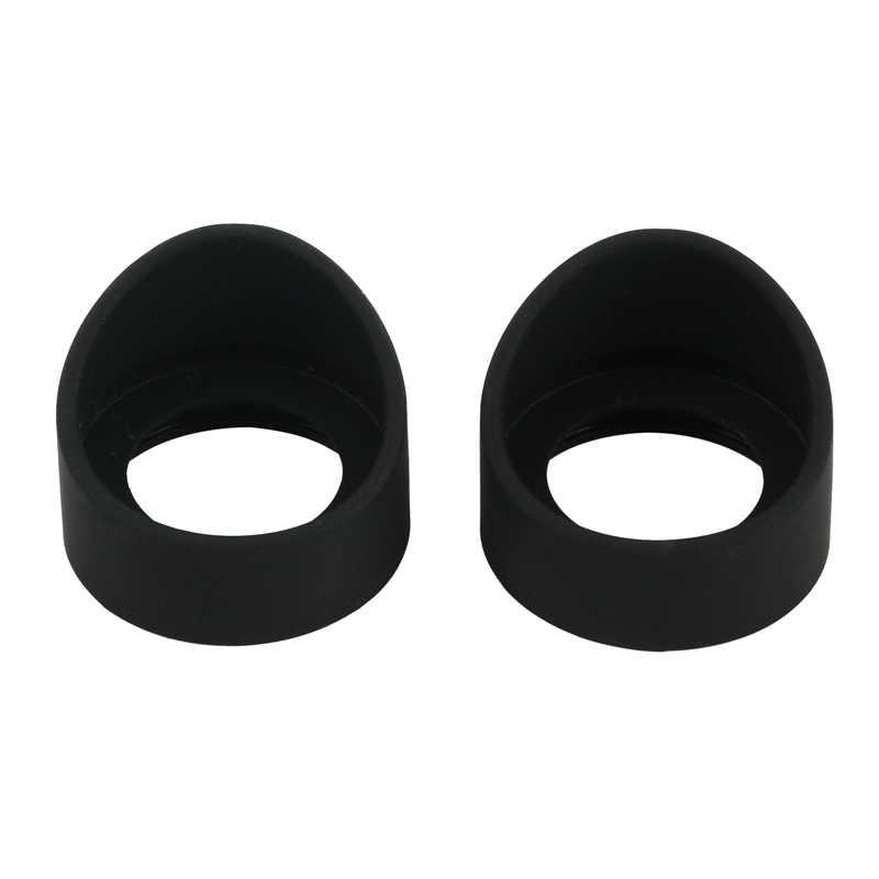 2 protectores de accesorios de ocular de goma de 36 mm de di/ámetro para telescopio de microscopio est/éreo biol/ógico KP-H1 Oblique Angle