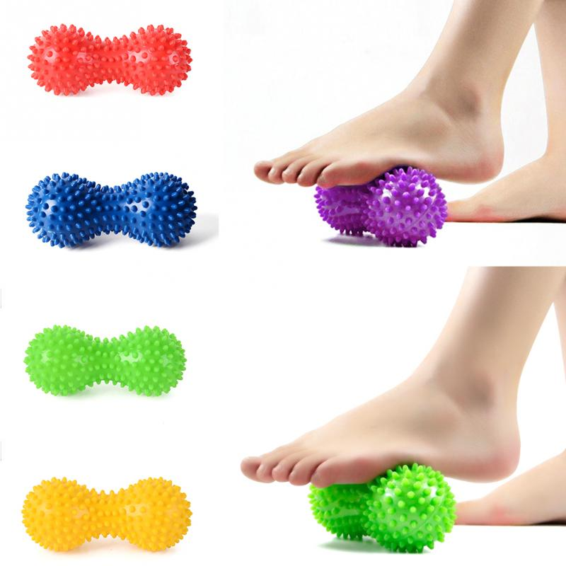 Pinda Pvc Yoga Levert Met Doornen Workout Massage Pinda Hand Bal Yoga Fitness Bal Opgeblazen Lucht Zak Pinda Bal 6 kleuren