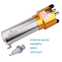 ATC CNC Spindle ISO20 ISO30 BT30 BT40 spindle for cnc router