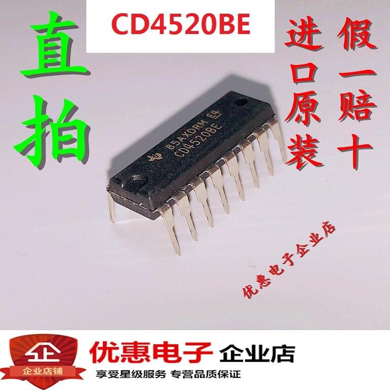 CD4520BE circuit intégré DIP-16