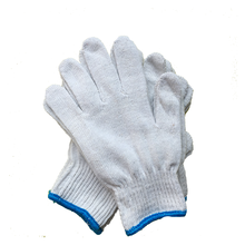 Thin Cotton  Garden  work Gloves Woodworking Hand Gloves Household  Yarn Labor Insurance Glove-2 Pairs One Pack
