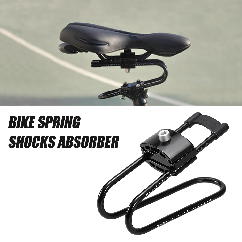 Bike Shocks Absorber MTB Spring Saddle Absorber Bicycle Cycling Suspension Device Aluminum Alloy Bike Shock Absorber
