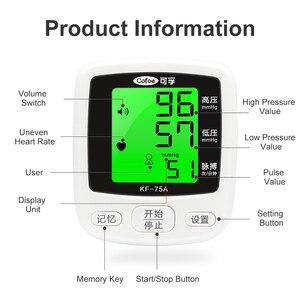 Image 4 - Cofoe Handgelenk Blutdruck Monitor Home Tragbare Digitale Automatische Blutdruckmessgerät für Mess Blutdruck und Puls Rate