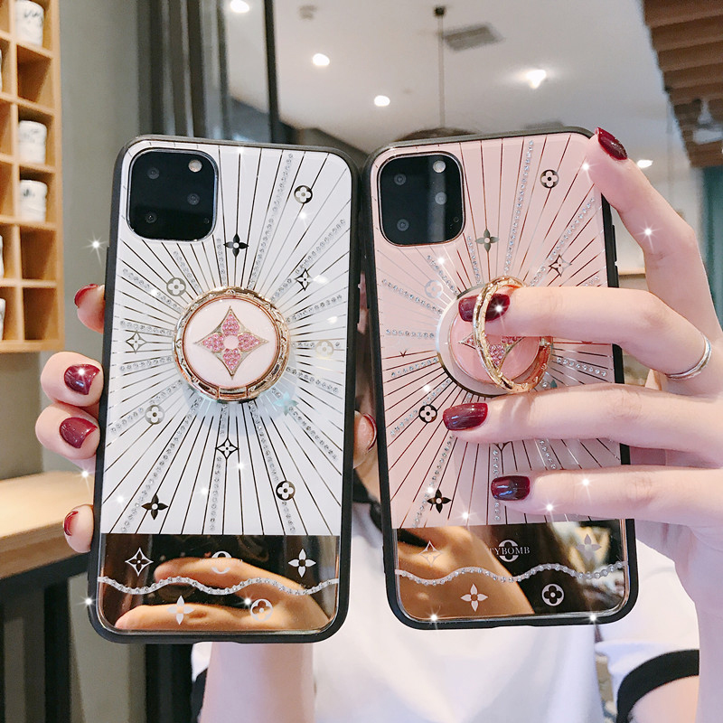 For <font><b>Huawei</b></font> P30 <font><b>P20</b></font> Pro <font><b>Case</b></font> Luxury <font><b>Diamond</b></font> With Ring Stand Gold protective back cover <font><b>case</b></font> for <font><b>huawei</b></font> mate 20 30 pro mate20 image