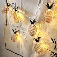 1,5/2/3 m impermeable baja emisión de calor Vintage piña LED hilos de hadas luces fiesta Bar decoración para habitación del hogar arte luz decoraciones