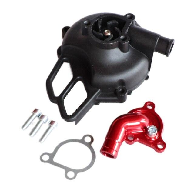 Motorcycle CNC Aluminum Alloy Water Pump Cover For 50 SX 2006 08 Pro JR LC 2002 05 PRO SR Water Pump Case New Arrivals