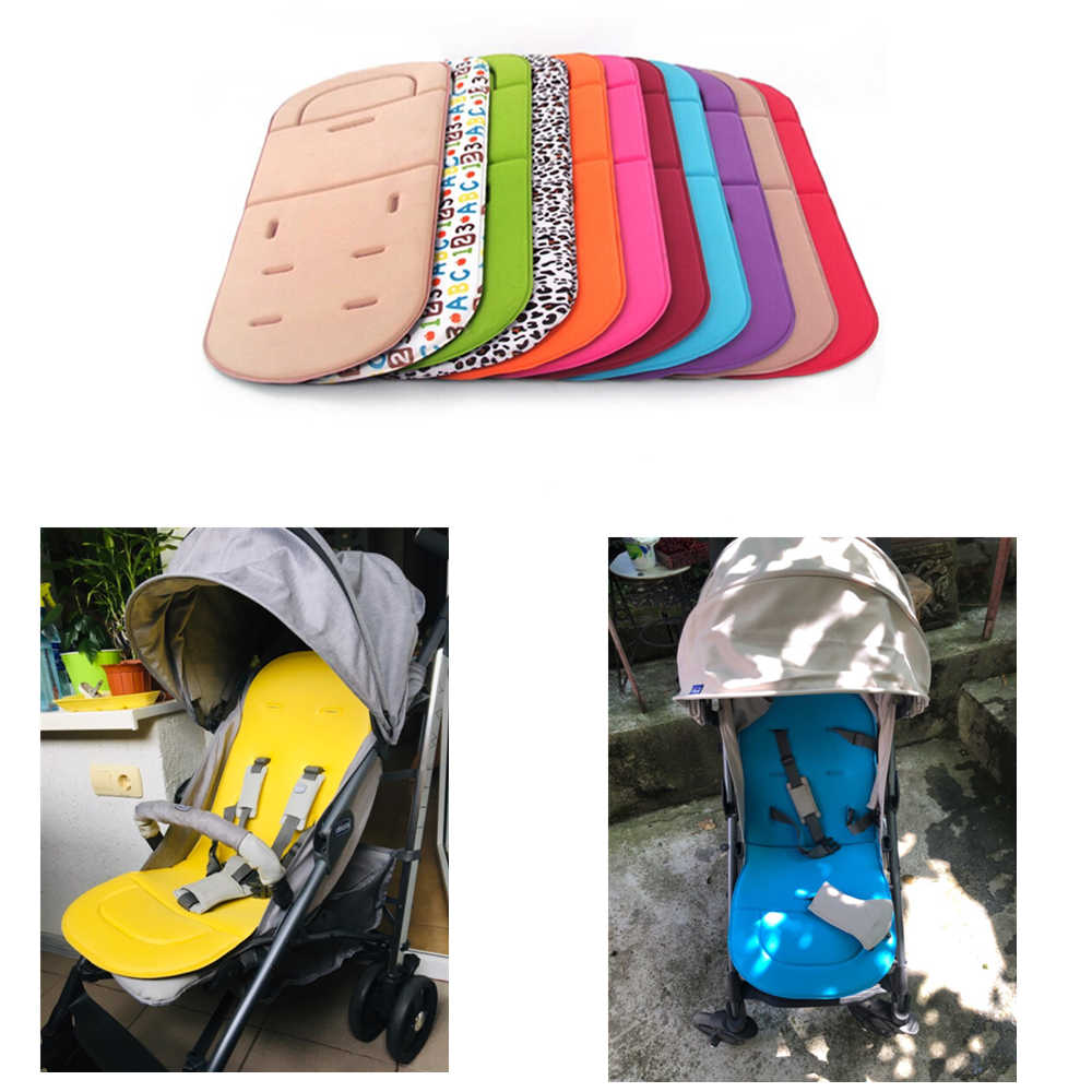 Baby Stroller Soft Cushion Pram Car Seat Mat Pushchair Cover Liner Pad Washable Stroller Accessories Baby Accessories
