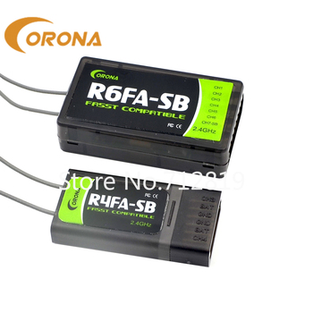 FREE SHIPPING CORONA R4FA-SB/ R6FA-SB 2.4GHZ FUTABA FASST COMPATIBLE S.BUS RECEIVER FOR RC PLANE storyfun for starters mov andflyers 2ed start 2 sb