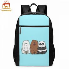Grizzly Backpack Grizzly Backpacks Mens   Womens Teenage Bag Multi Pocket Trending Sports Print Bags