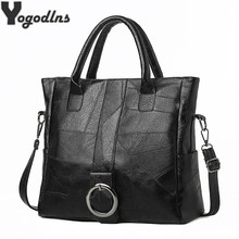 2021 nouveau Pu cuir Simple sacs à main marques concepteur femmes sac à bandoulière décontracté grande capacité fourre-tout Vintage dames sacs à bandoulière