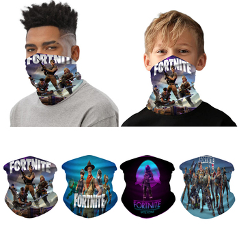Fortress Night face shield fortnites Cover face mask 3D Towel Digital Printing Sport Mask Outdoor Riding Collar Towel mouth mask 1
