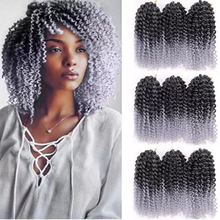 Hair-Extensions Crochet-Hair Braids Jamaican Afro Kinky Marlybob In-Bulk Curl Synthetic