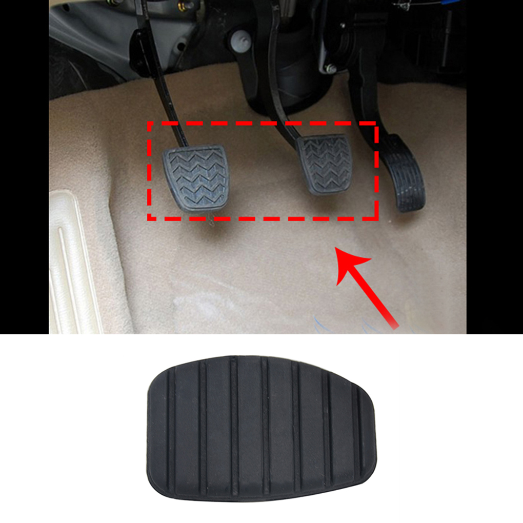 2× Car Auto Genuine Brake Clutch Pedal Rubber Pad Cover Universal Accessory