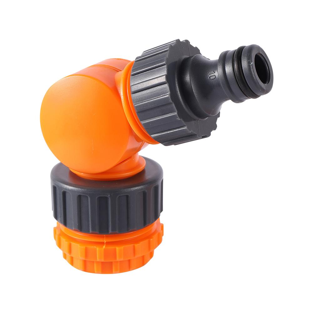 180° Rotatable Water Tap Splitter Faucet Quick Connector 1/2