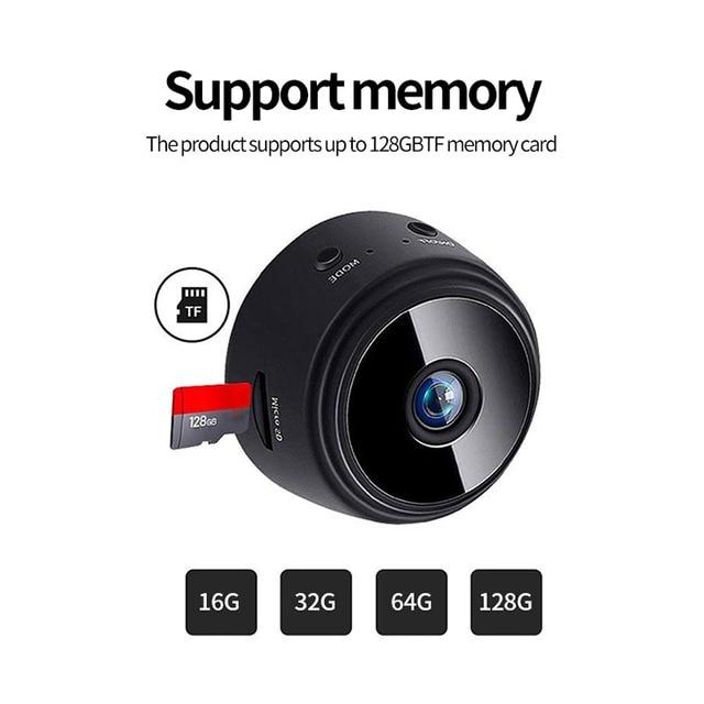 JOZUZE A9 Wireless ip Mini Camera Home Security Camera WiFi Night Vision 1080P Wireless Surveillance Camera Remote Monitor 3