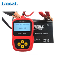 Motorcycle automotive tools 12V Battery Tester Analyzer Micro 30
