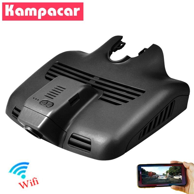 Kampacar Novatek 96672 wideorejestrator samochodowy kamera samochodowa Wifi rejestrator dla Mercedes Benz GLC C klasa 200 220 260 300 w205 w204 s205 c205 a205