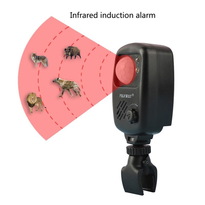 Outdoor Alarm Wireless Motion Detector Bite Alarms Carp Fishing Alert Anti-Theft Alarm Sound Fishing Infrared Sensor Alarm