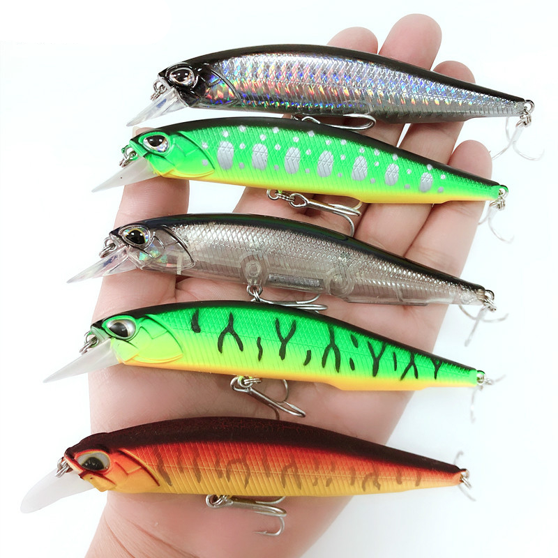 1pcs Minnow Fishing Lures 11cm 13.5g Jerkbait Pike Trout Wobbler Floating Crankbait Hard Artificial Baits Carp Fishing Tackle