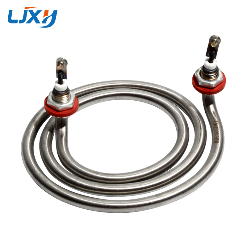 LJXH Mosquito-type Electric Heating Tube Bucket Annular Heater Element Two-legged Bucket Electric Heating Tube Rod 3KW/4KW