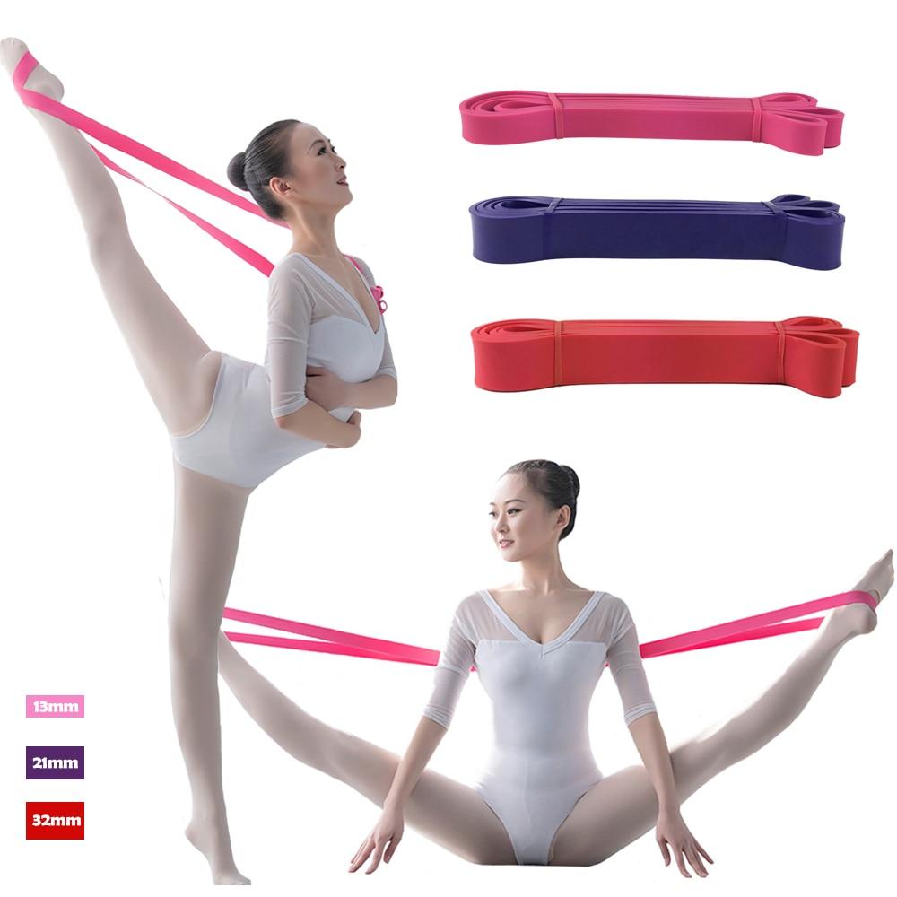Ballet Stretch Band Elastic Leg Training Bands Flexibility Dance & Gymnastics Training Foot Stretch Ballet Soft Opening Bands