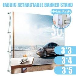 Алюминиевый сплав, выдвижная стойка для баннеров, стойка для презентаций, Цветочная настенная рамка, свадебный фон, Декор, 230*230 см/230*305 см/230*...