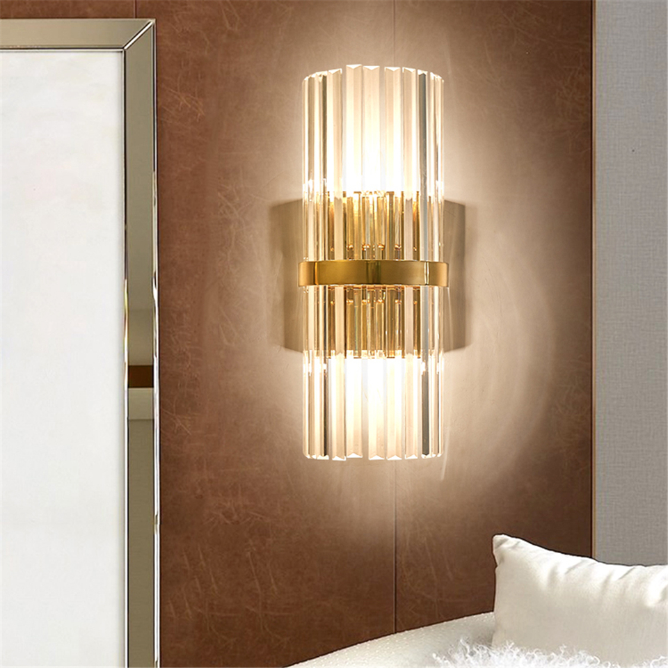 Nordic Led Crystal Wall Lights Bedroom Living Room Corridor Wall Lamp Lighting Interior Decor Hanging Lamp Sconce Light Fixtures Buy At The Price Of 94 34 In Aliexpress Com Imall Com