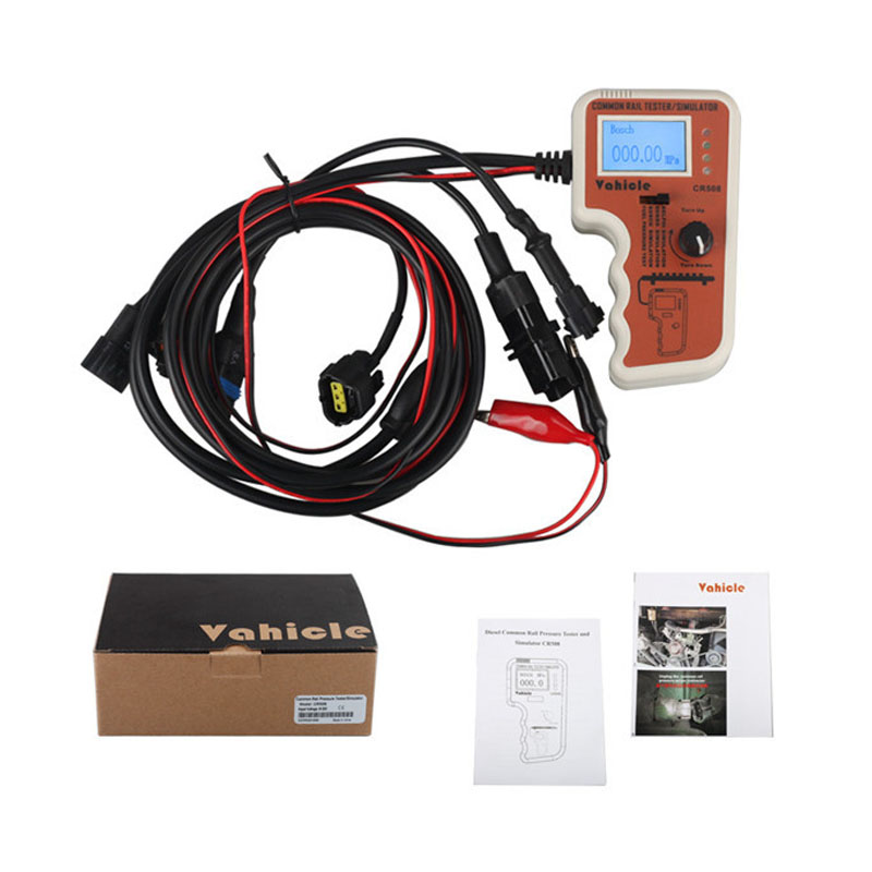CR508 S Digital Common Rail Pressure Tester And Simulator For High-Pressure Pump Engine Diagnostic Tool