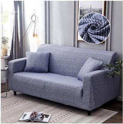 разноцветный эластичный чехол для дивана универсальный фотография