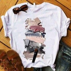 Женская футболка с 3D-принтом в виде пальцев, Модные Цветные топы, женские футболки, летняя футболка в стиле Харадзюку, футболки с короткими р...