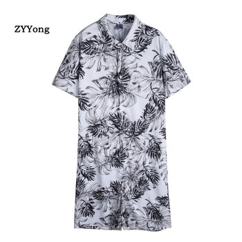 Men Rompers Short Sleeve Print Tops Shirt Cargo Overalls Male Short Pants Fashion Jumpsuits Sweatpants Work Clothing 2020 hellow and good bye print short sleeve tops