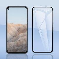 Per Google Pixel 5 5a Pixel5 4a 5G 4 3a 3 XL XL4 XL3 pellicola proteggi schermo in vetro temperato a copertura totale pellicola protettiva antideflagrante