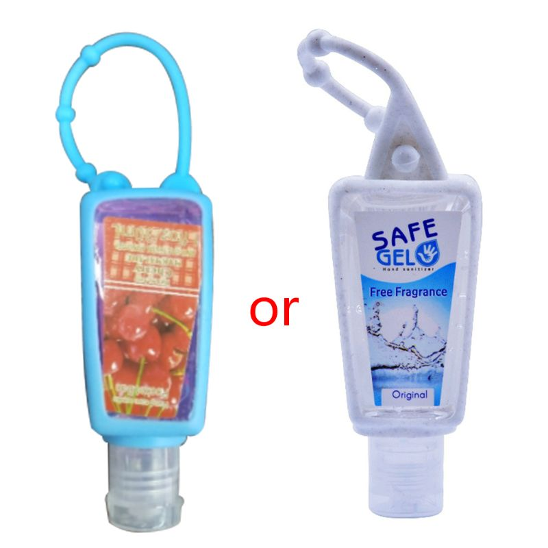 Mother Kids Hand Soaps 30ML Mini Hand Sanitizer Free Fragrance Disposable No Clean Travel Safe Gel With Adjustable Rope