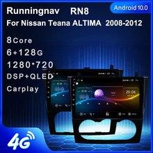 4G LTE Android 10,1 Für Nissan Teana Altima 2008 2009 2010 2011 2012 Multimedia Stereo Auto DVD Player Navigation GPS Radio