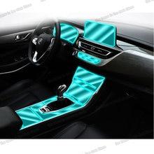 Lsrtw2017 transparente interior do carro painel de engrenagem tela lcd filme para changan cs75 2018 2019 2020 2021 etiqueta protetora