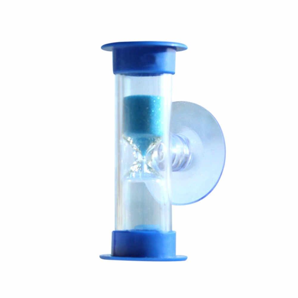 3 דקות מיני שעון חול עבור מקלחת טיימר/שיניים צחצוח טיימר עם יניקה כוס עופרת משלוח זמן שעון חול מדחום שעון שעון