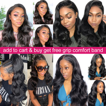 360 Lace Frontal Wig Pre Plucked With Baby Hair Body Wave Lace Front Human Hair Wigs Remy Brazilian Hair Wigs 150% Density