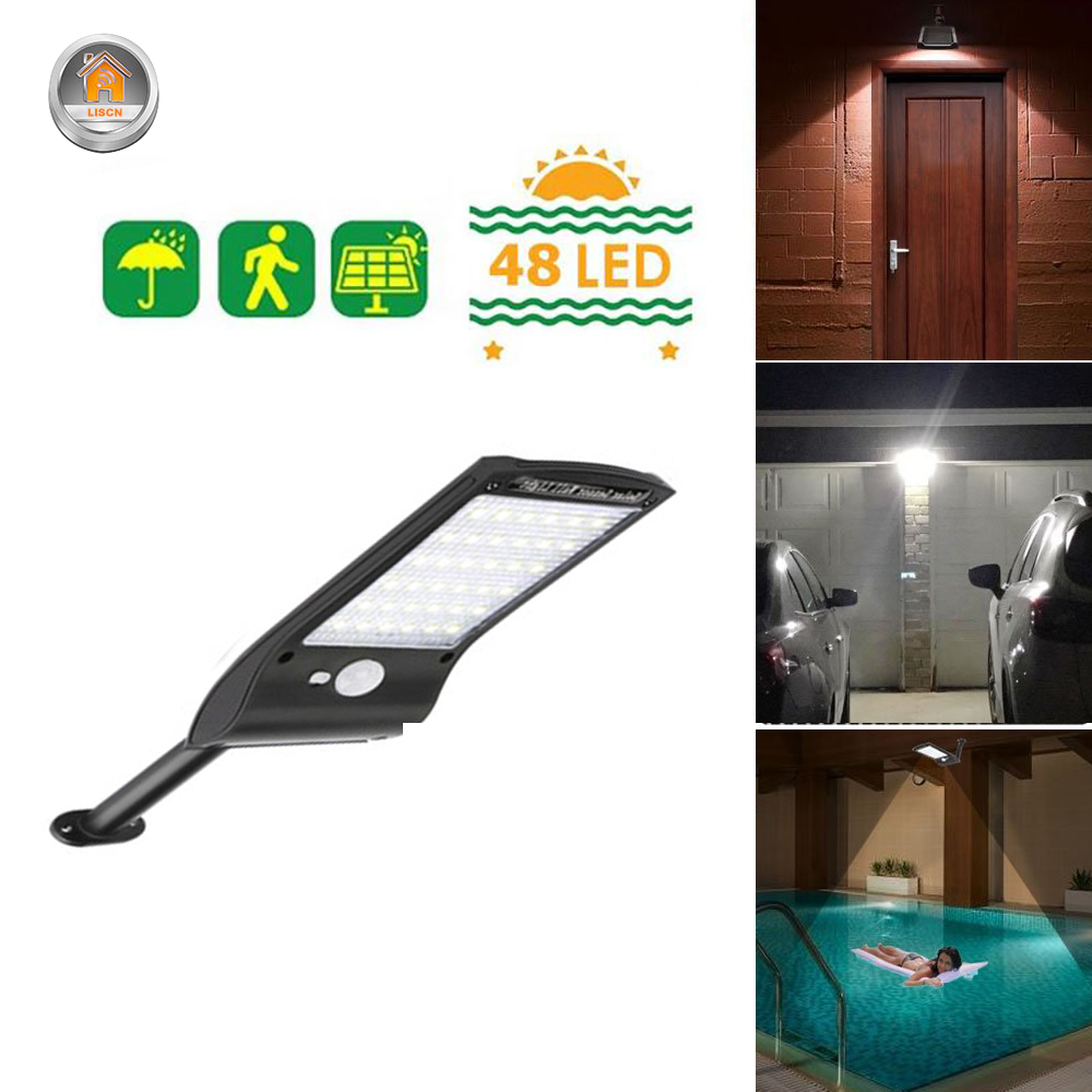 Outdoor Solar Wall Light with 180 Degree Rotating Struts in 3 Sensor modes for Stair and Garden Pathway 3
