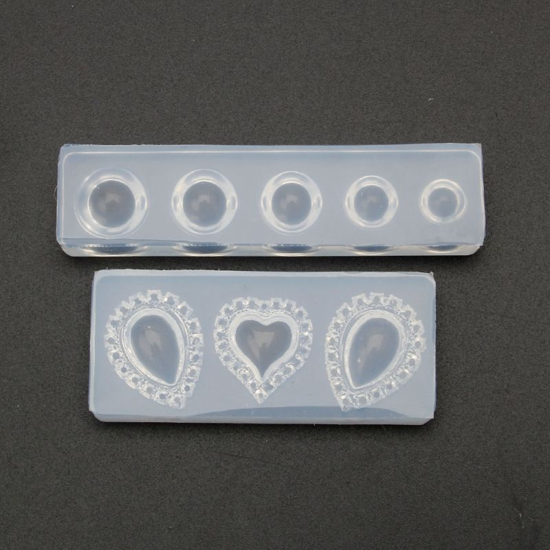 Cabochons Gem Jewelry Silicone Casting Mold Resin Epoxy Jewelry Making Tools