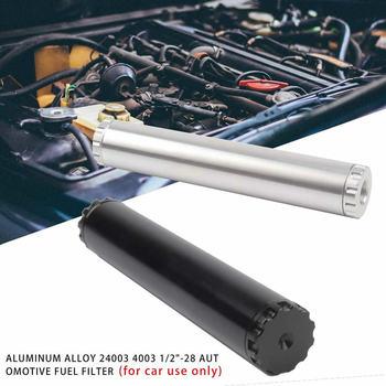 Для 1/2-28 NAPA 4003 WIX 24003 автомобильный топливный фильтр 1x6 Заготовка алюминиевый низкий профиль